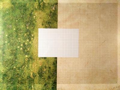 Rasterfolie transparent A1 (84,1 x 59,4 cm) quadratisch 10 mm
