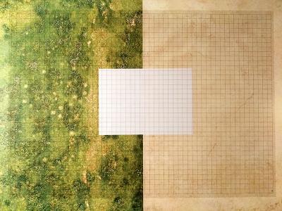 Transparent Grid Sheet A1 (84,1 x 59,4 cm) Quadratic 15 mm