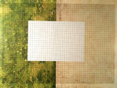 Rasterfolie transparent A2 (59,4 x 42,0 cm) quadratisch 10 mm