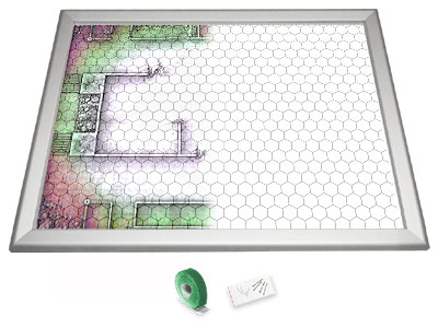 Gamerboard A2 (Mitred Corners) with Grid