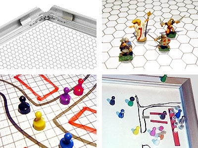 Gamerboard A1 (Mitred Corners) with Grid