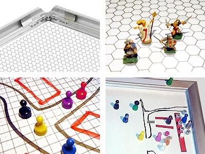 Gamerboard A1 (runde Ecken) mit Raster