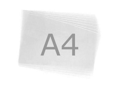 Bedruckbare transparente Folie, A4, 10 Stk.