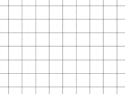 Transparent Grid Sheet A1 (84,1 x 59,4 cm) Quadratic 10 mm