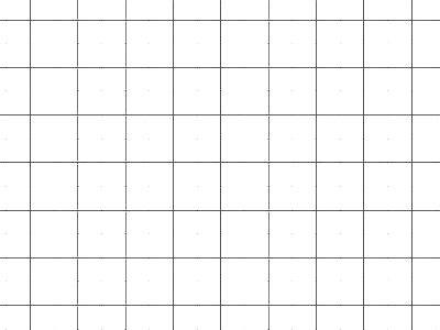 Transparent Grid Sheet A2 (59,4 x 42,0 cm) Quadratic 10 mm