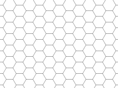 Common Worksheets Hexagon Graph Paper Preschool and – Hexagon Graph Paper