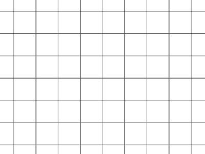Rasterfolie transparent A1 quadratisch 20 mm