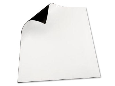 Cover Sheet, Magnetic, Cuttable, White, Various Sizes