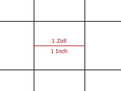 10 Stk. GAMER-PAPIER, Raster, A1, quadratisch, 1 Zoll