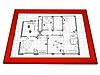 Gamerboard A3 (Mitred Corners) red with Accessories