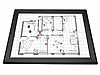 Gamerboard A3 (Mitred Corners) black with Accessories