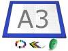 Gamerboard A3 (spitze Ecken) ultramarin-blau mit Zubehör