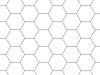 Grid-Foil A2 Hexagon 15 mm