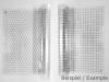10 Transparent Grid Sheets A3 (42,0 x 29,7 cm) at your choise